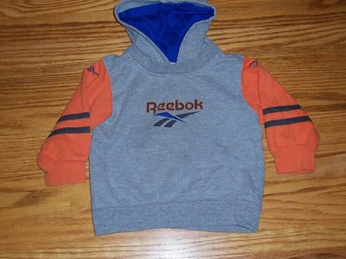 Reebok lightweight hoodie, 18 mo - $3 by nantuckerin.