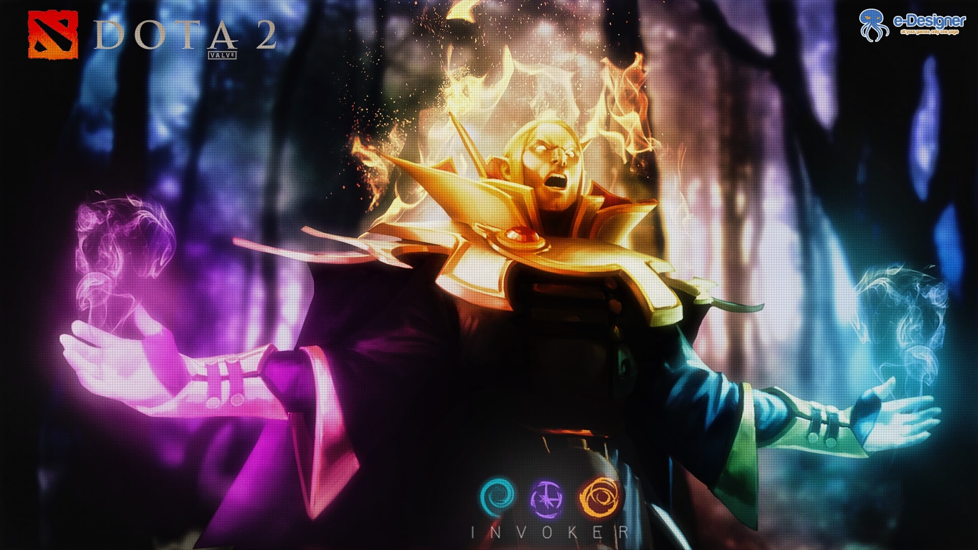 Ultra Hd Dota 2 Invoker Wallpaper