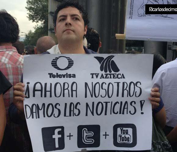 #yosoy132 en TElevisa