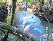 Il sottomarino sequestrato dalla Dea e dalle forze armate  dell'Ecuador