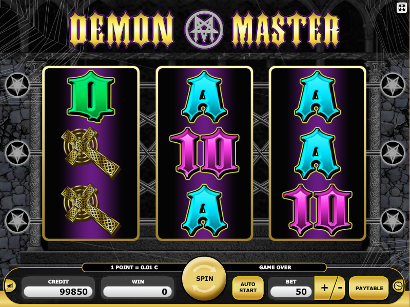 Demon Master Go The prince of darkness asks for a dance.Can you resist him?When the sun goes down, the vampires wake up - and with them the demonic good odds of winning this three-reel game.Here you are in the right place, if simple profit is not enough for you and you want to suck twice with every bite.Winning is in your blood?İskilip