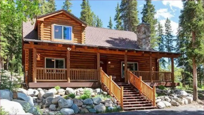 Cozy Log Cabin In The Rocky Mountains Cozy Homes Life