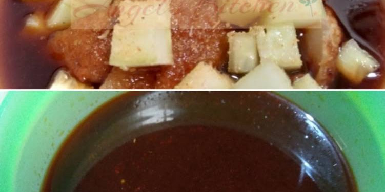 Resep Cuko Pempek Ala Bangka Oleh Angel's Kitchen
