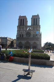 Notre Dame De Paris France Satellite Imagery Oddities On
