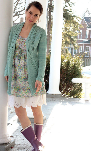 French Braid Cardigan