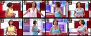 Melhor na TV 2015/685 - Fátima Lopes sexy com roupa justissima