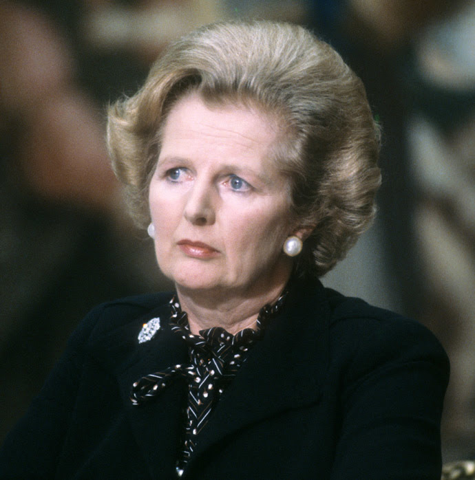 Margaret Thatcher (AFP Photo)
