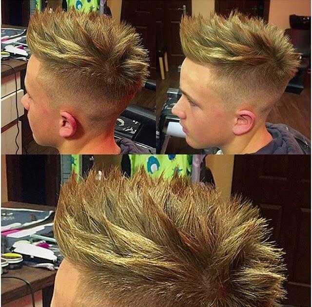 How To Do Spiky Hairstyle - Kecemasan e