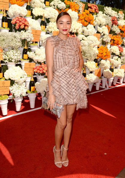 Ashley Madekwe - The Fourth-Annual Veuve Clicquot Polo Classic, Los Angeles - Red Carpet