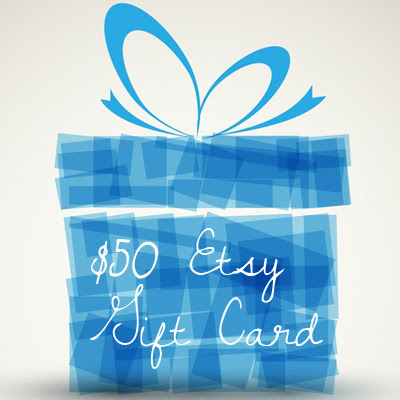$50 Etsy Gift Card Giveaway