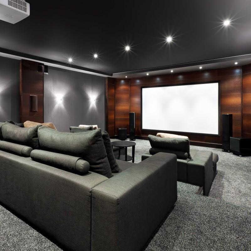 Home Entertainment Room Design