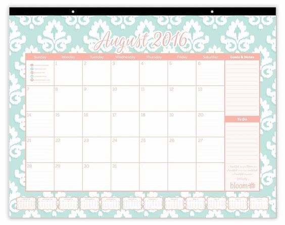 Amazon.com : bloom daily planners 2016-17 Academic Year Desk ...