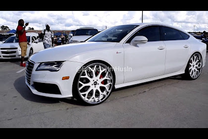 All White Audi A7