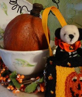 tiny halloween bear
