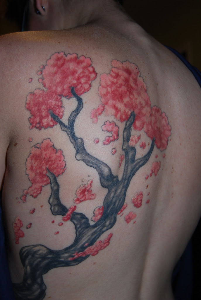 Tremendous Asian Flowers Tattoo Design In 2017 Real Photo Pictures
