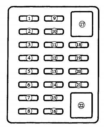 Mazda Mx 5 2000 Fuse Box Diagram Auto Genius