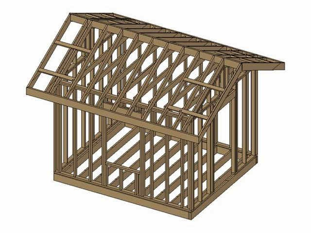 Free 12x16 Shed Plans Man Plans Amp Guide