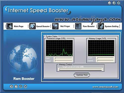 mengoptimalkan Kecepatan Koneksi Internet