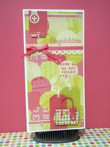 Congratulations Purse Card