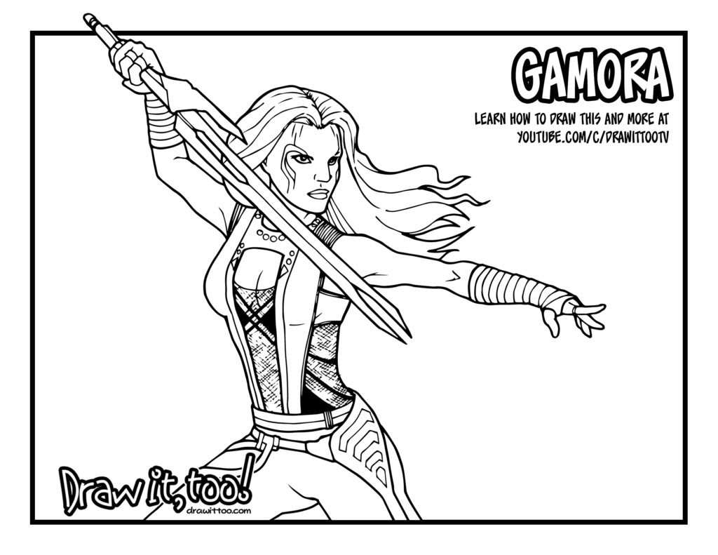 Marvel Guardians Of The Galaxy Coloring Pages Coloring Pages