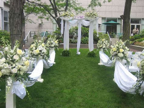 Outdoor Wedding Ceremonies by Celebrations Design