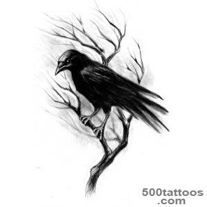 Pictures Of Flying Crows Tattoo Meaning Kidskunstinfo