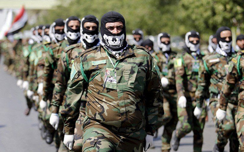 Défilé de la milice irakienne Hachd al-Chaabi (Unités de mobilisation populaire)