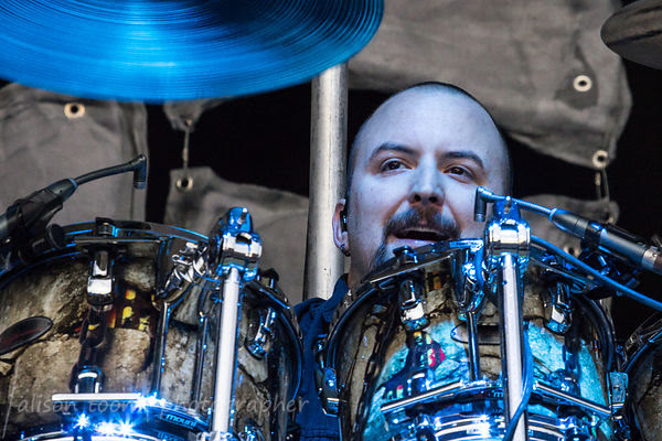 Mike Wengren, drums, Disturbed