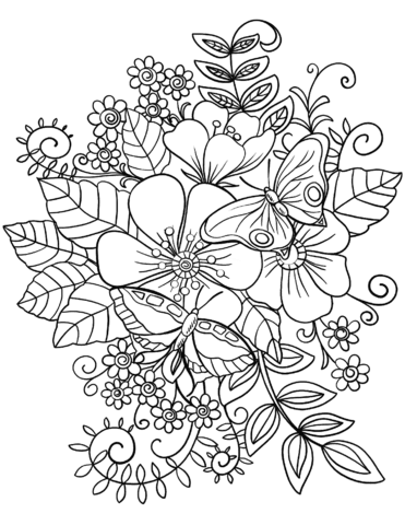 8800 Coloring Pages Butterflies  Images