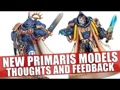 New Primaris Models ►Thoughts and Feedback!