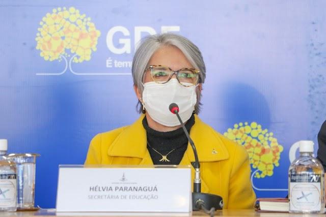 Governador Ibaneis garante retorno às aulas presenciais da rede pública em total segurança
