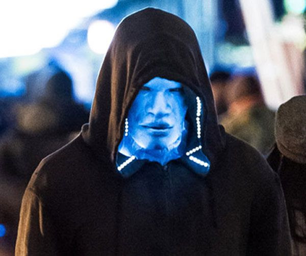 Electro attempts to blend in with the crowd in THE AMAZING SPIDER-MAN 2.
