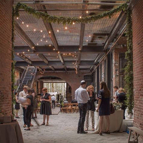 Courtyard Weddings, Glasserie Restaurant, Brooklyn