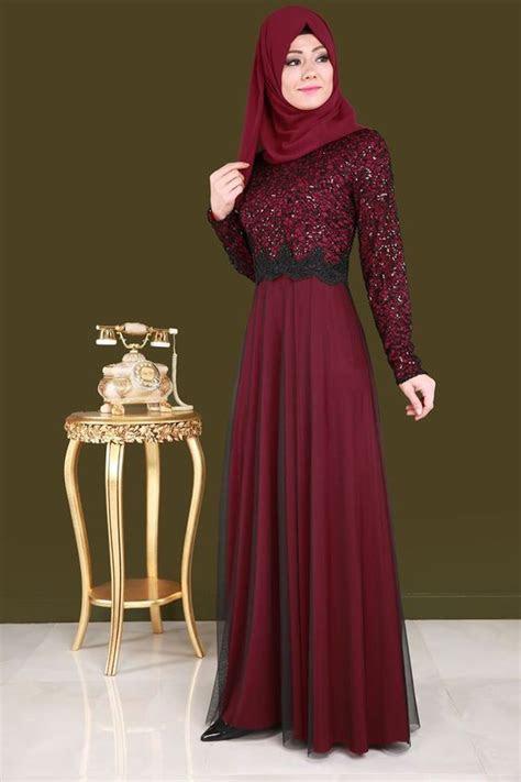 model baju pesta renda kombinasi model baju populer