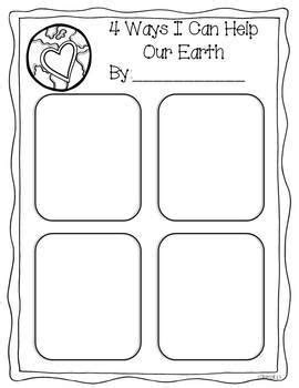 Home Sweet Home- An Earth Day Craft by Miss Kindergarten