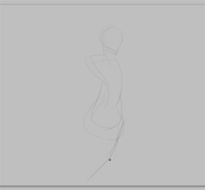 how to draw figure body in motion sketch for comics manga