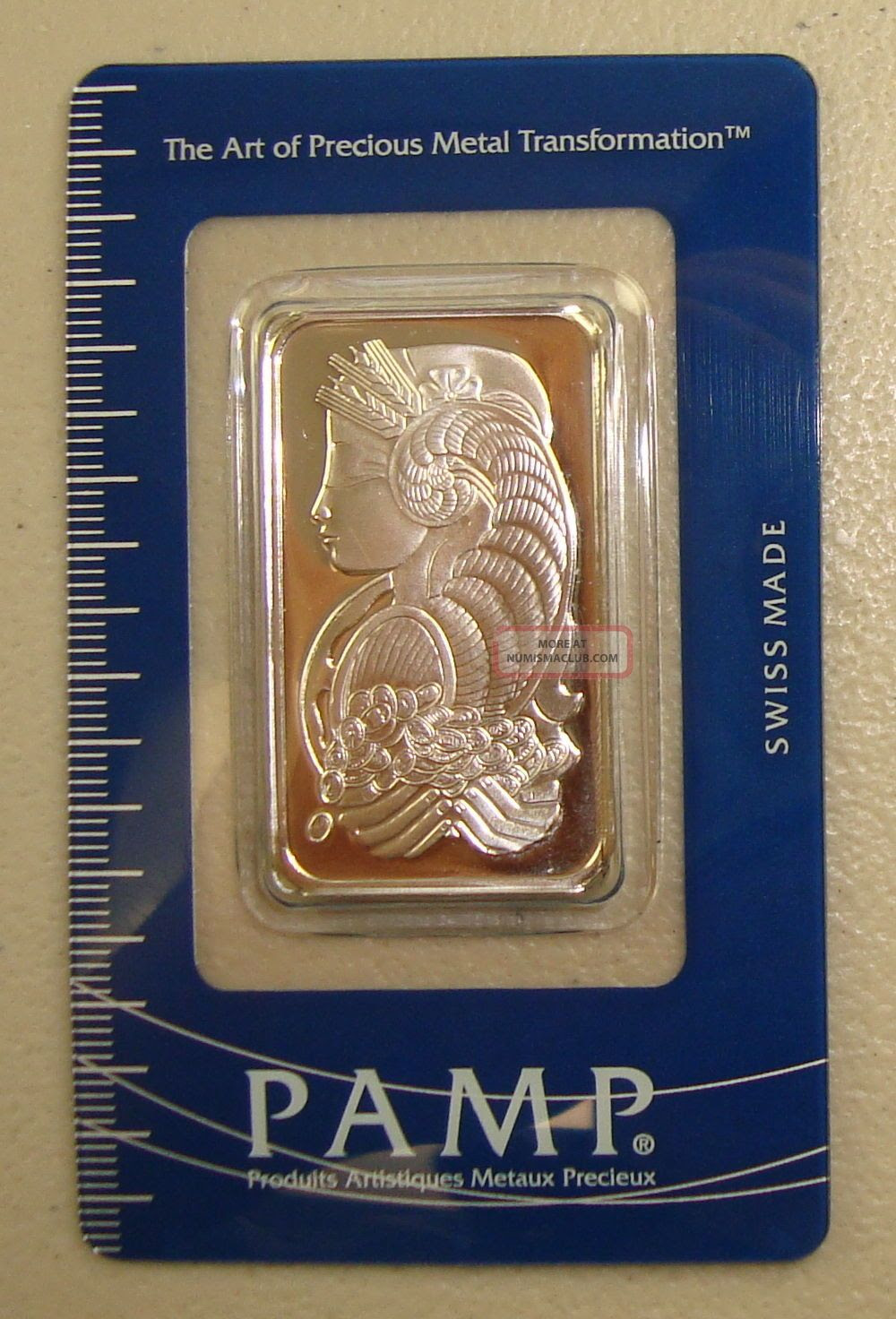 Pamp Suisse 1 Oz. 9995 Fine Palladium Bullion Bar