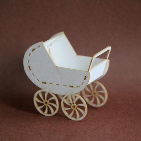 Wózek 3D z tektury