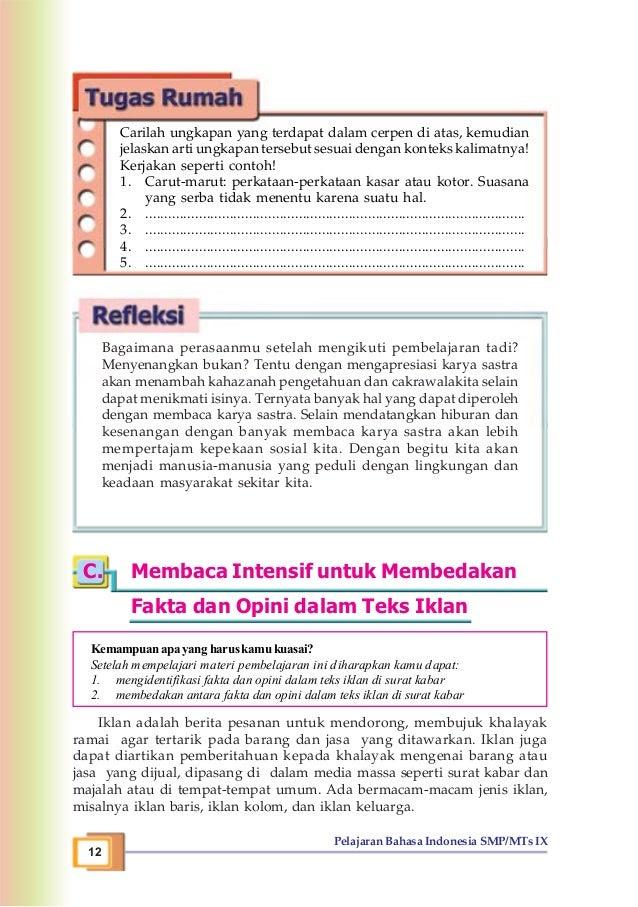 Contoh Kalimat Yang Tidak Efektif Dalam Surat Kabar