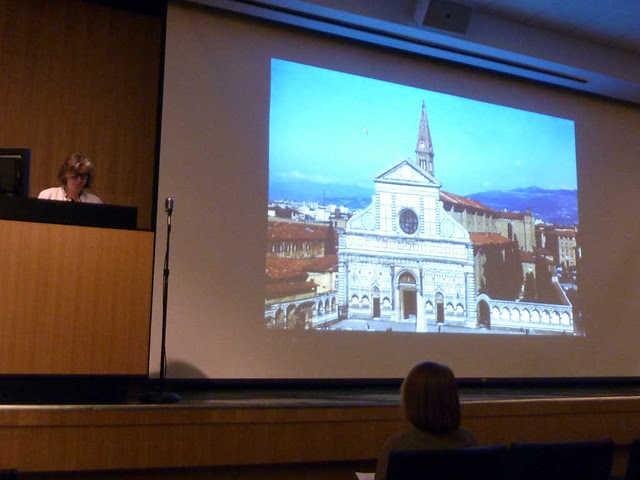P1040740-2010-10-23-GaTech-Dowling-Symposim-Pauline-Morin-Alberti-Santa-Maria-Novella-Masaccio