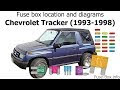 View 1999 Chevy Tracker Fuse Diagram Images
