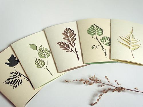 Botanical-Papercut-Cards