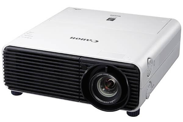 The Canon XEED WUX500 LCOS projector.