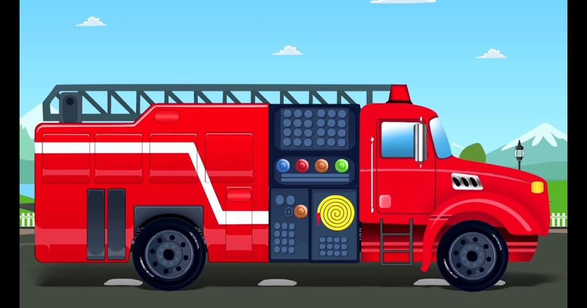 gambar mobil animasi anak