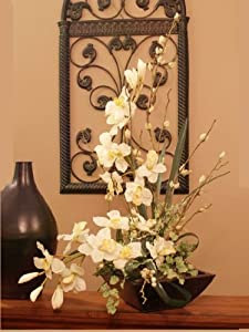 Sale Cymbidium Soft Silk Orchid Flower Arrangement Artificial Mixed Flower Arrangements Qwertyuiop000012poi