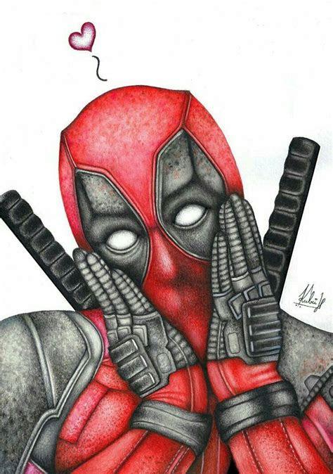 draw    draw  deadpool marvel art marvel