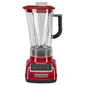 KitchenAid KSB1575ER 5-Speed Diamond Blender with 60-Ounce