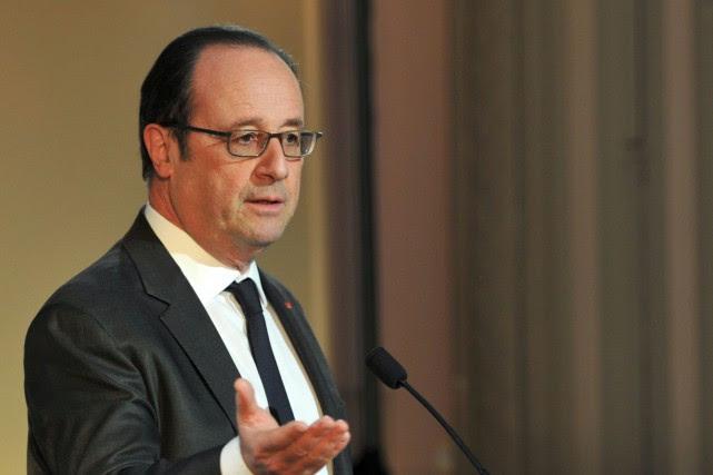 Le président françaisFrançois Hollande.... (PHOTO GUILLAUME SOUVANT, ARCHIVES AFP)