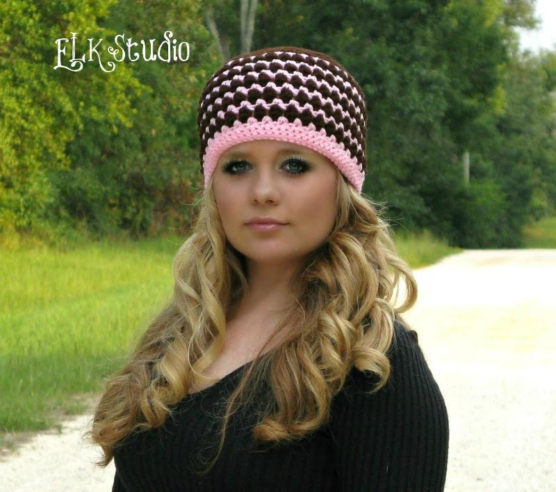 De Kodey Beanie - Un Patrón LIBRE del sombrero del ganchillo por ELK Estudio