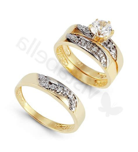 Babanina's blog: antique wedding ring trio sets